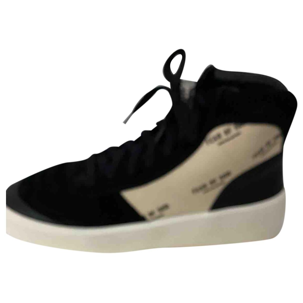 Fear Of God \N Sneakers in  Schwarz Veloursleder