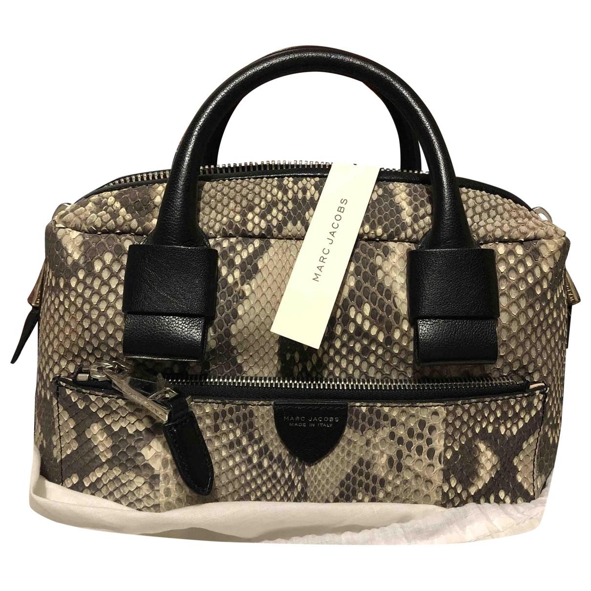 Marc Jacobs The Box Bag Handtasche in  Bunt Python