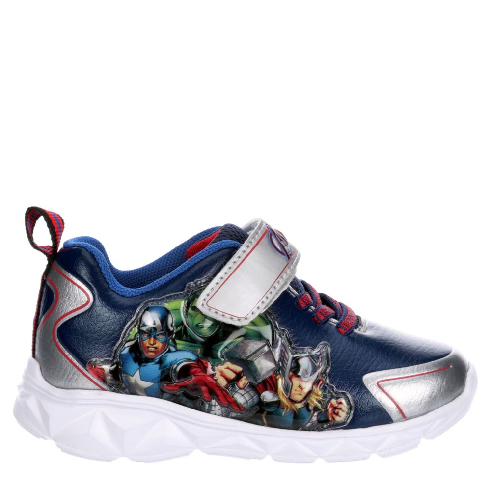 Childrens Licensed Boys Infant Avengers Lighted Shoes Sneakers
