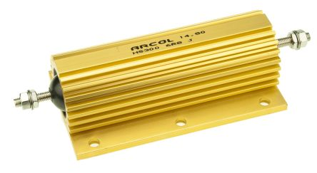Arcol HS300 Series Aluminium Housed Axial Wire Wound Panel Mount Resistor, 6.8Ω ±5% 300W