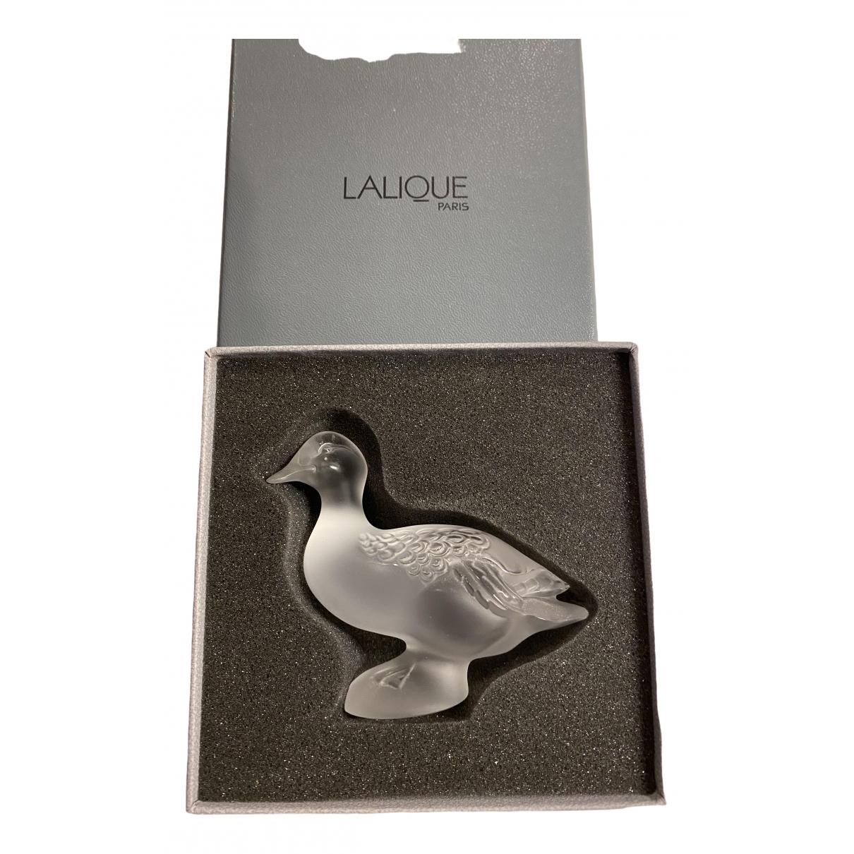 Lalique - Art   pour lifestyle en verre - blanc