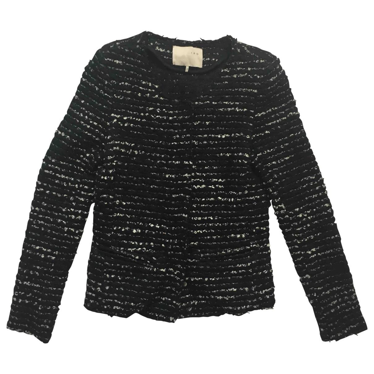 Iro \N Black Wool jacket for Women 3 0-5