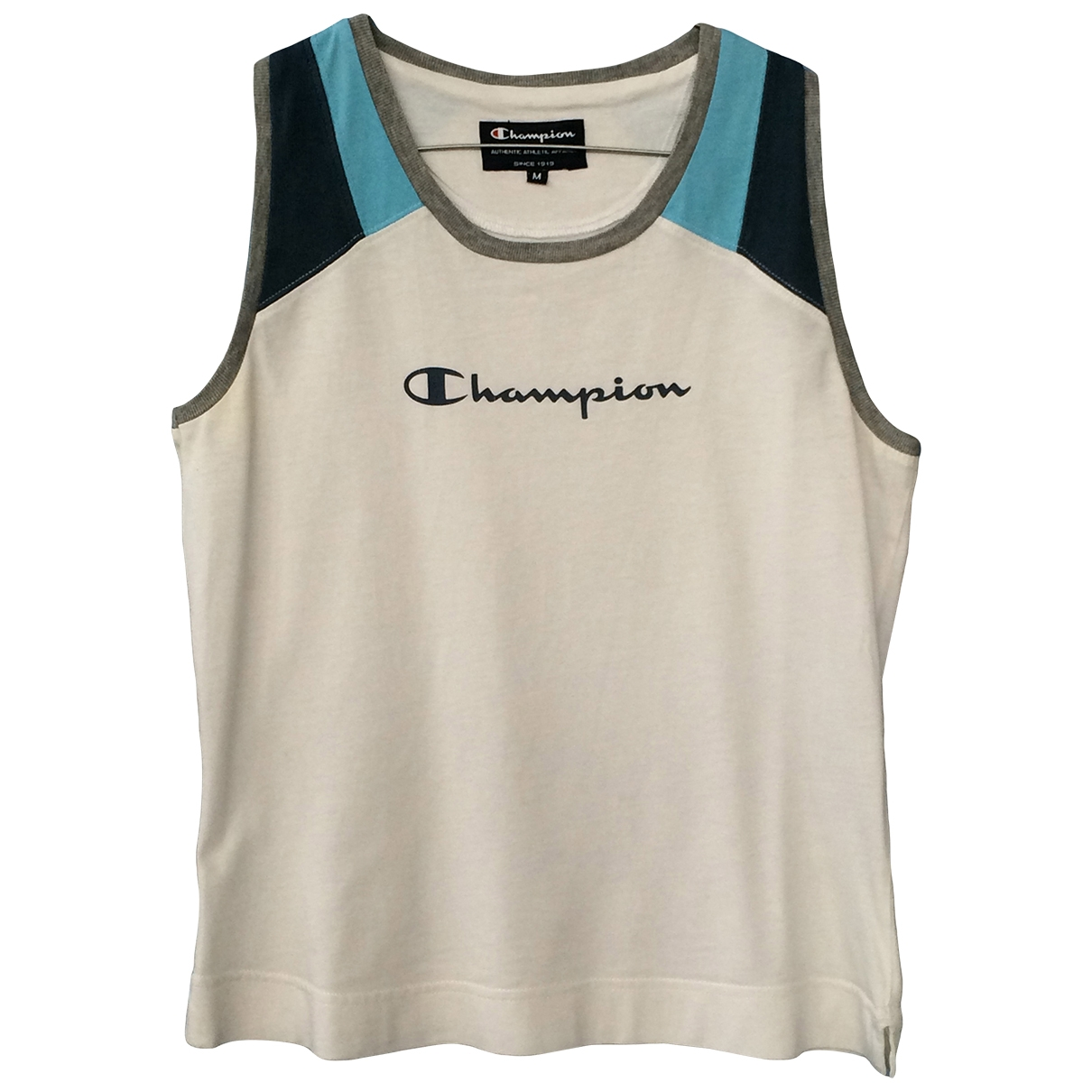 Champion \N T-Shirts in  Weiss Baumwolle