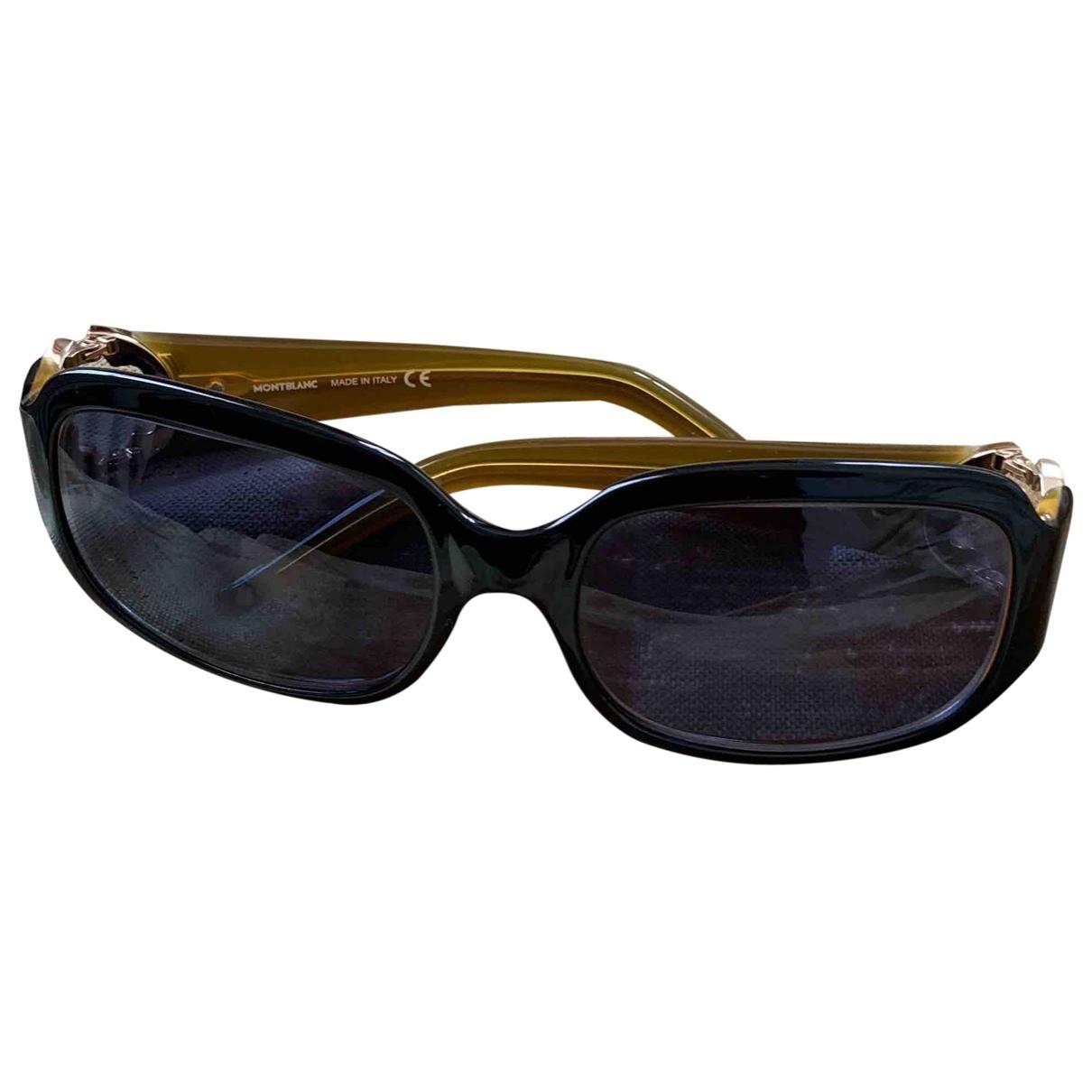 Montblanc \N Black Sunglasses for Women \N
