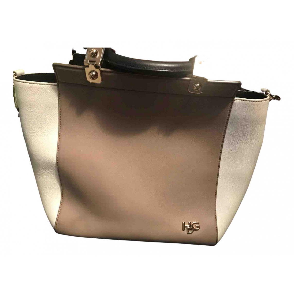 Givenchy House de Givenchy Beige Leather handbag for Women \N