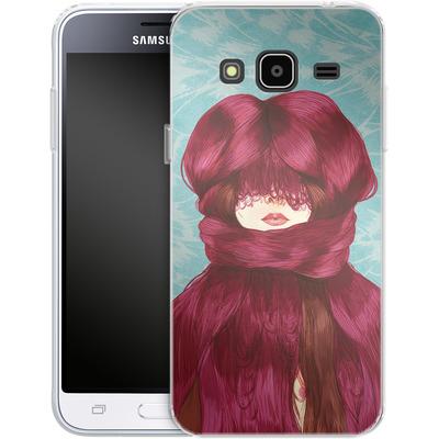 Samsung Galaxy J3 (2016) Silikon Handyhuelle - Cold von Marcos Chin