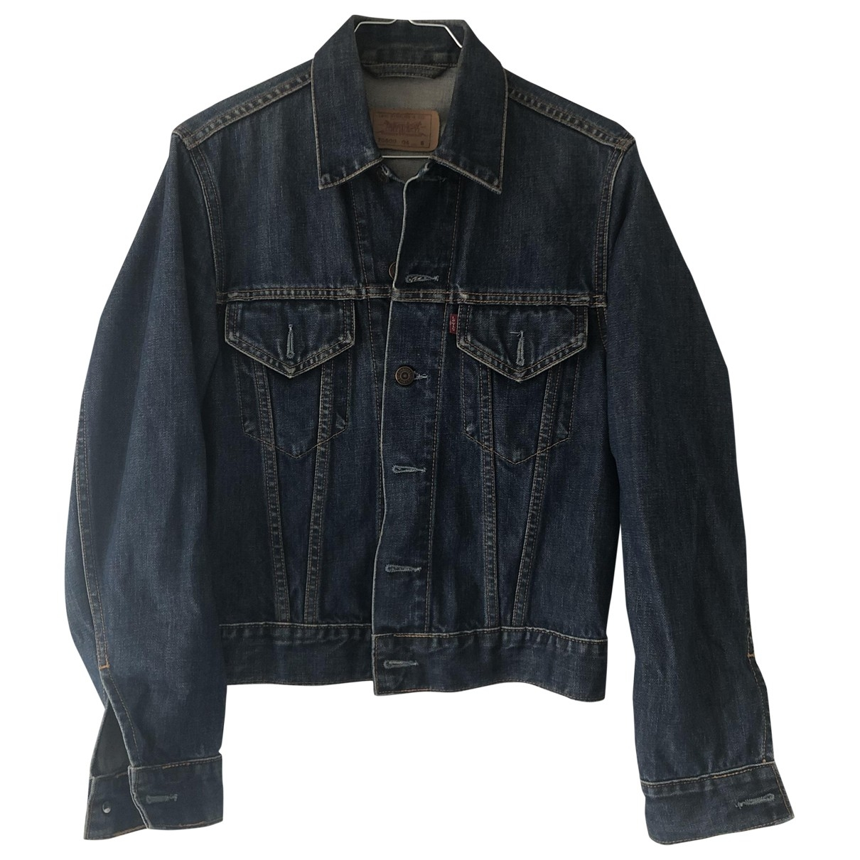 Levi's \N Blue Denim - Jeans Leather jacket for Women S International
