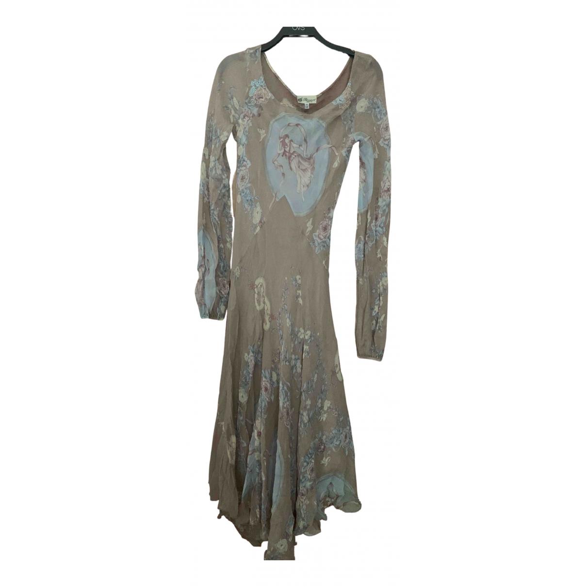 Blumarine - Robe   pour femme en soie - rose