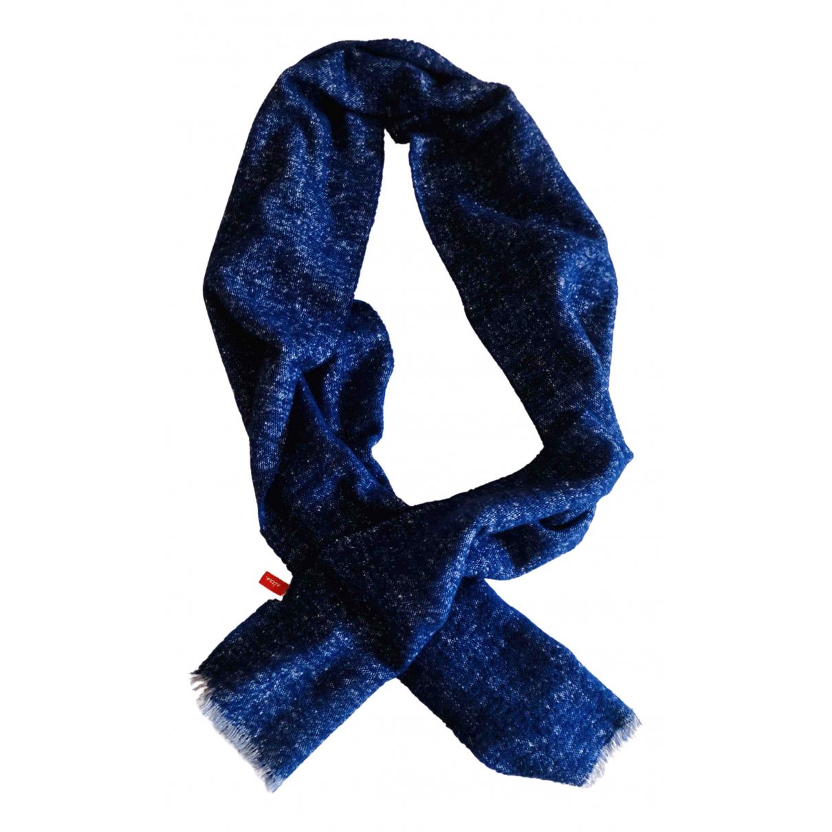 Altea \N Tuecher, Schal in  Blau Wolle