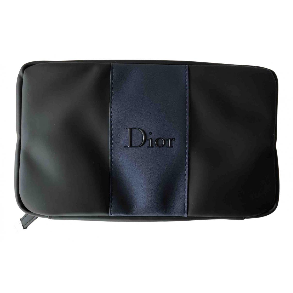 Dior Homme \N Kleinlederwaren in  Schwarz Polyester