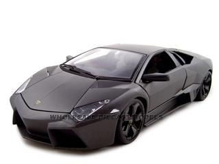 Lamborghini Reventon Matt Grey 1/18 Diecast Model Car by Bburago