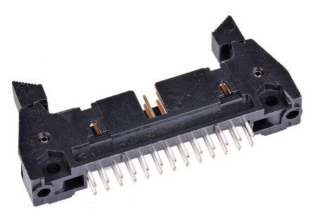 3M , 3000, 26 Way, 2 Row, Straight PCB Header