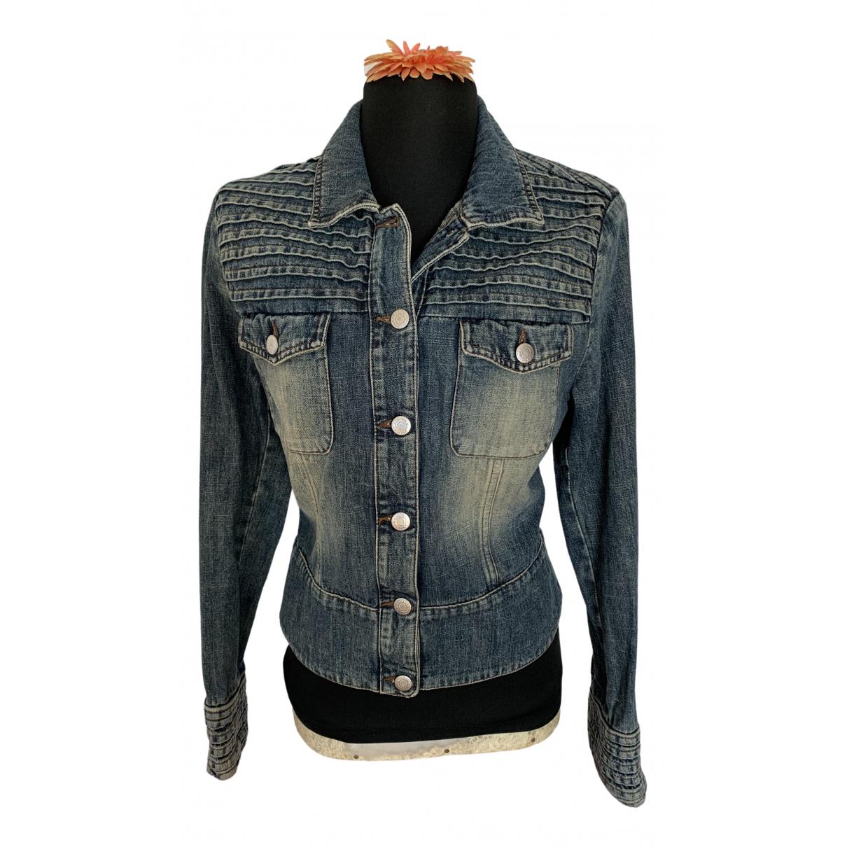 Max & Co \N Blue Denim - Jeans jacket for Women 44 IT