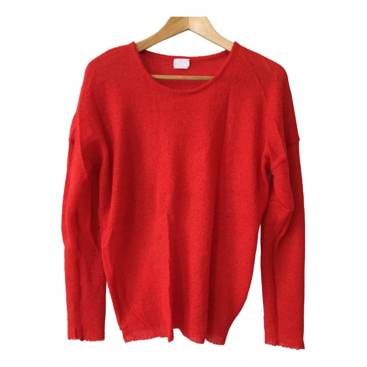 Lala Berlin - Pull   pour femme en laine - rouge