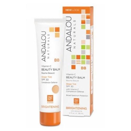 Vitamin C BB Beauty Balm Sheer Tint SPF 30 2 Oz by Andalou Naturals