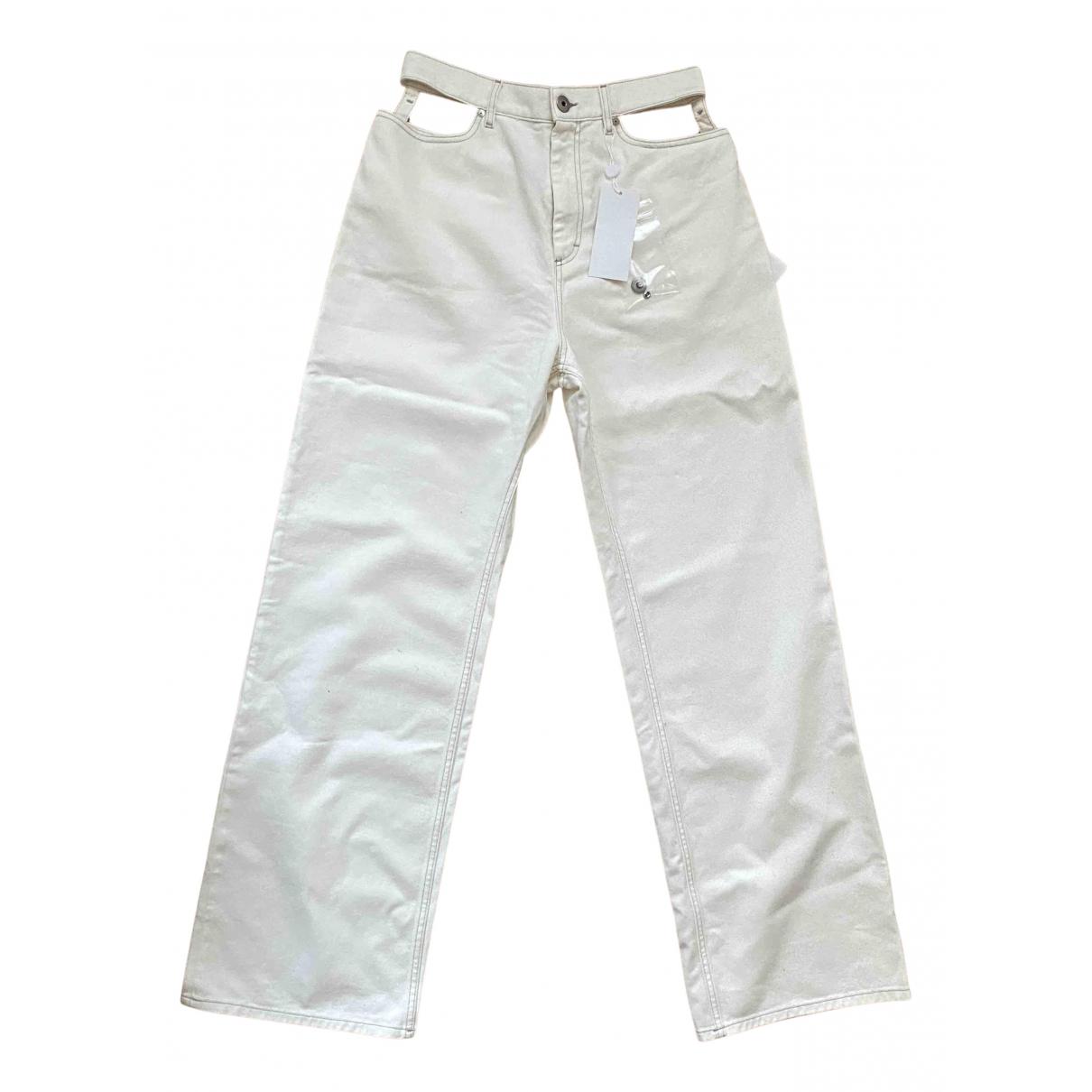 Maison Martin Margiela \N Shorts in  Weiss Denim - Jeans