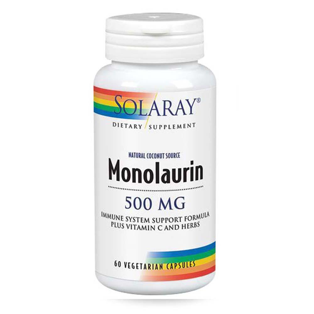 Monolaurin 60 Caps by Solaray