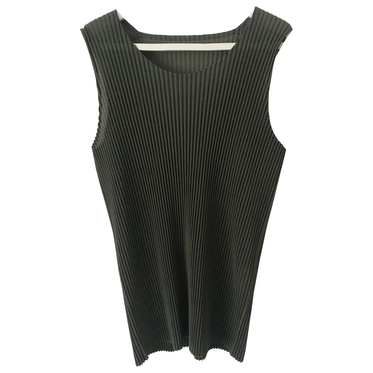 Issey Miyake \N T-Shirts in  Gruen Polyester