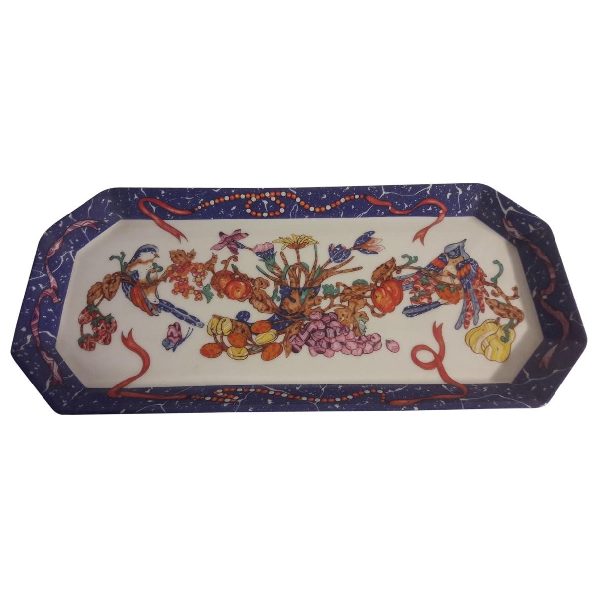 Bandeja de Porcelana Hermes