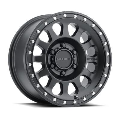 Method Race Wheels 315, 17x8.5 Wheel 5 on 150 Bolt Pattern - Matte Black - MR31578558500