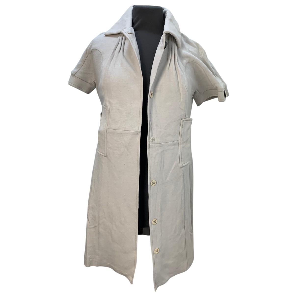 Pinko \N Kleid in  Beige Wolle