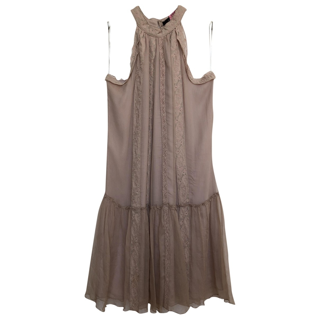 Zara \N Pink Silk dress for Women S International