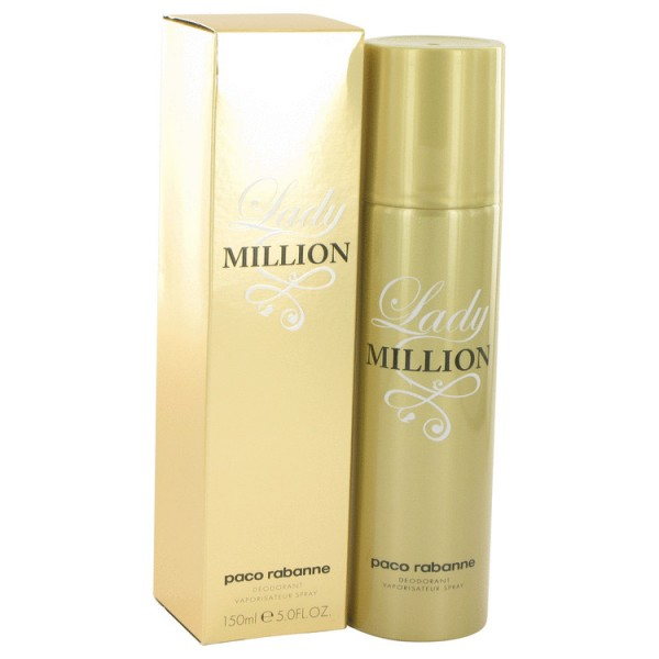 Lady Million - Paco Rabanne desodorante en espray 150 ML