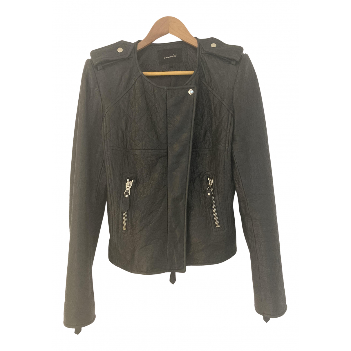 Isabel Marant N Black Leather jacket for Women 3 0-5