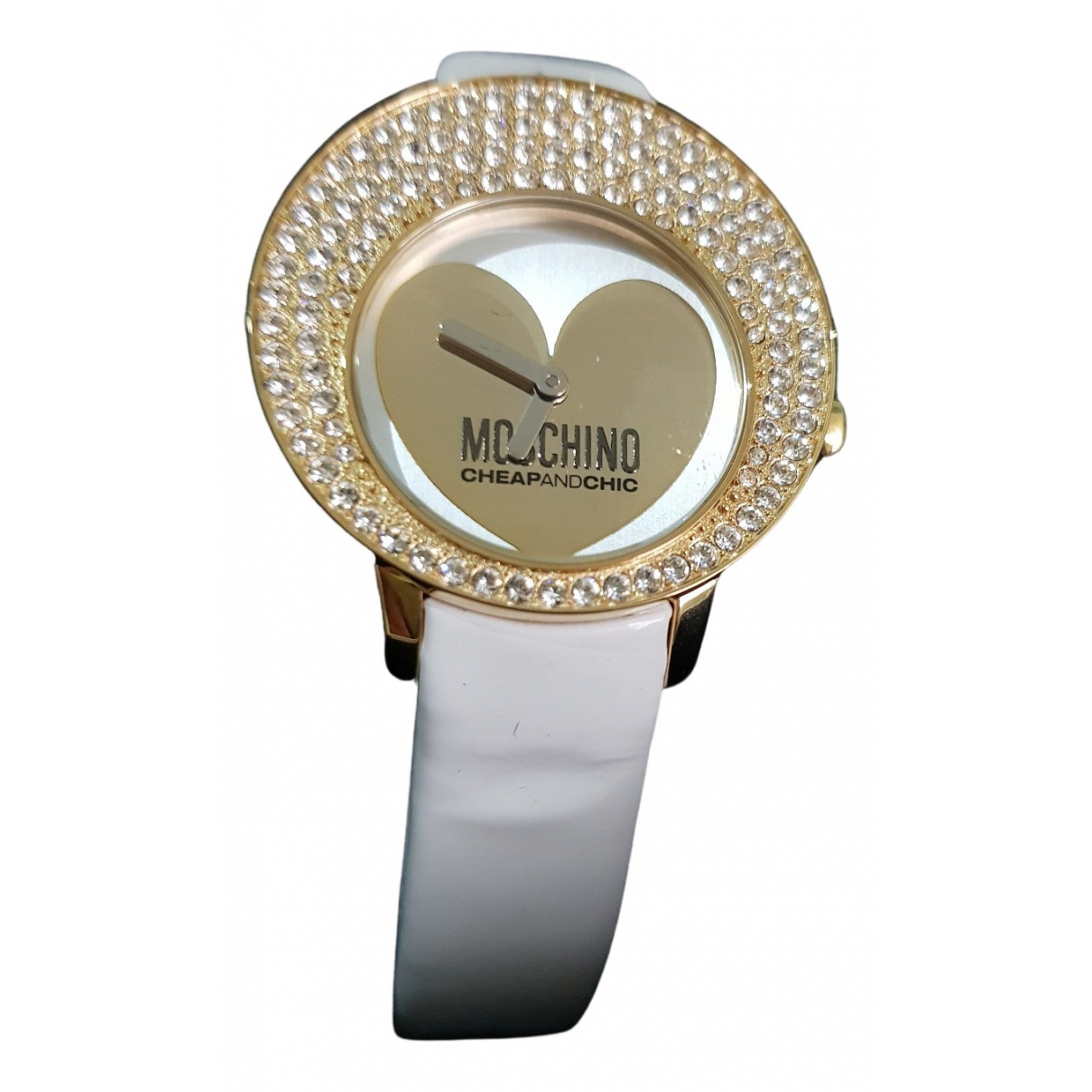Moschino Cheap And Chic \N Gold Steel watch for Women \N