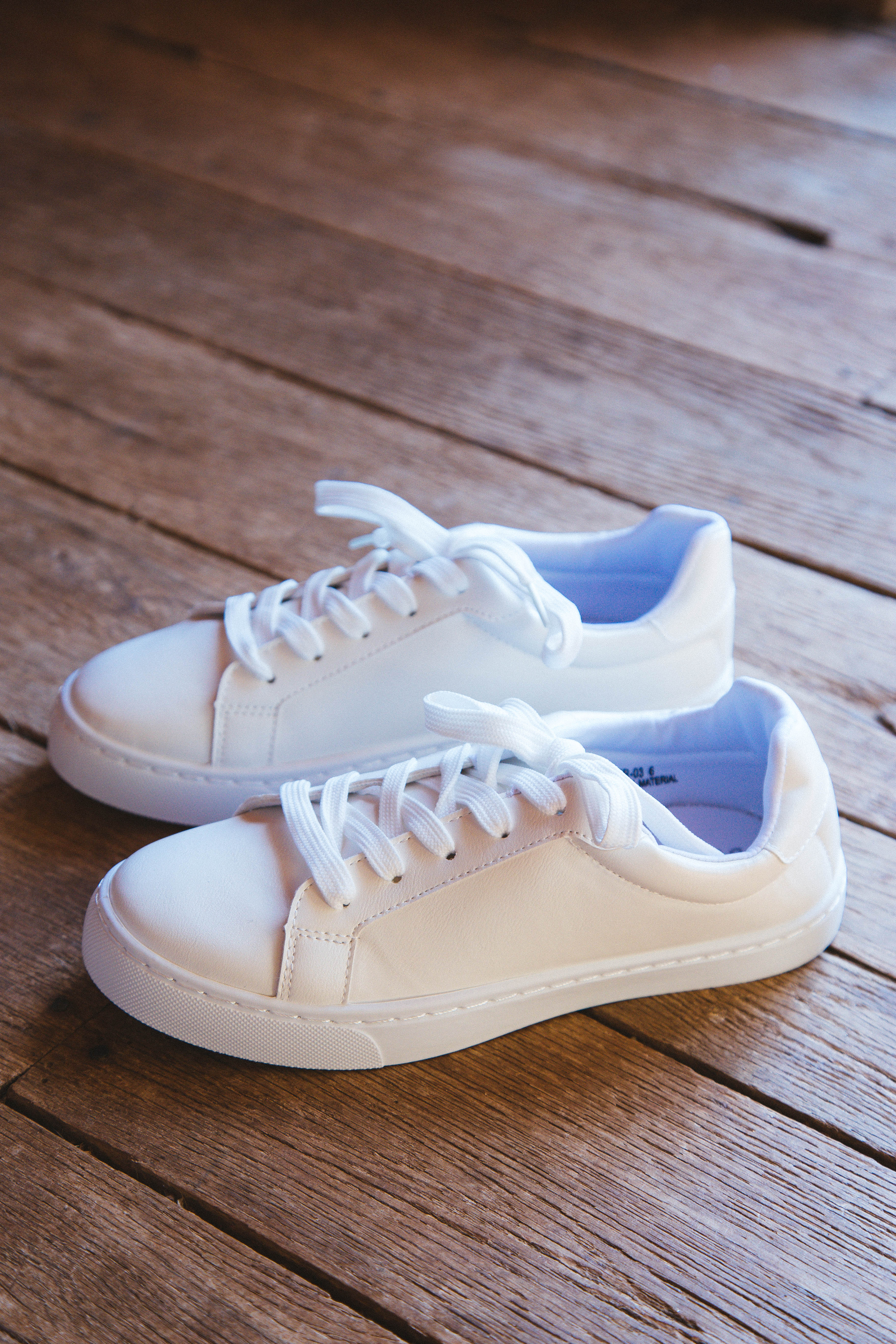 Power Lace Up Sneaker White