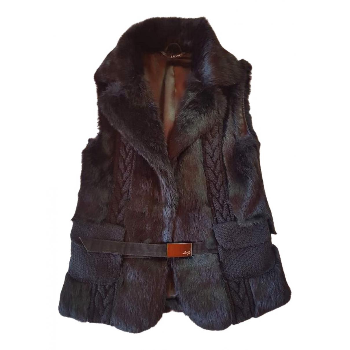 Liu.jo \N Black Rabbit jacket for Women S International