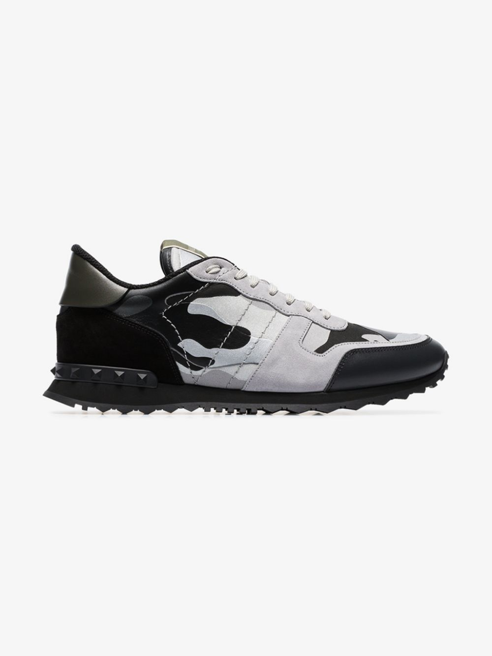 Rockrunner Leather Sneakers