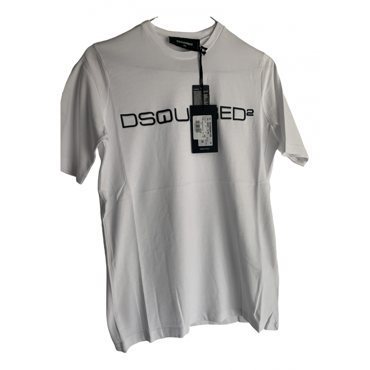 Dsquared2 \N White Cotton  top for Women XS International
