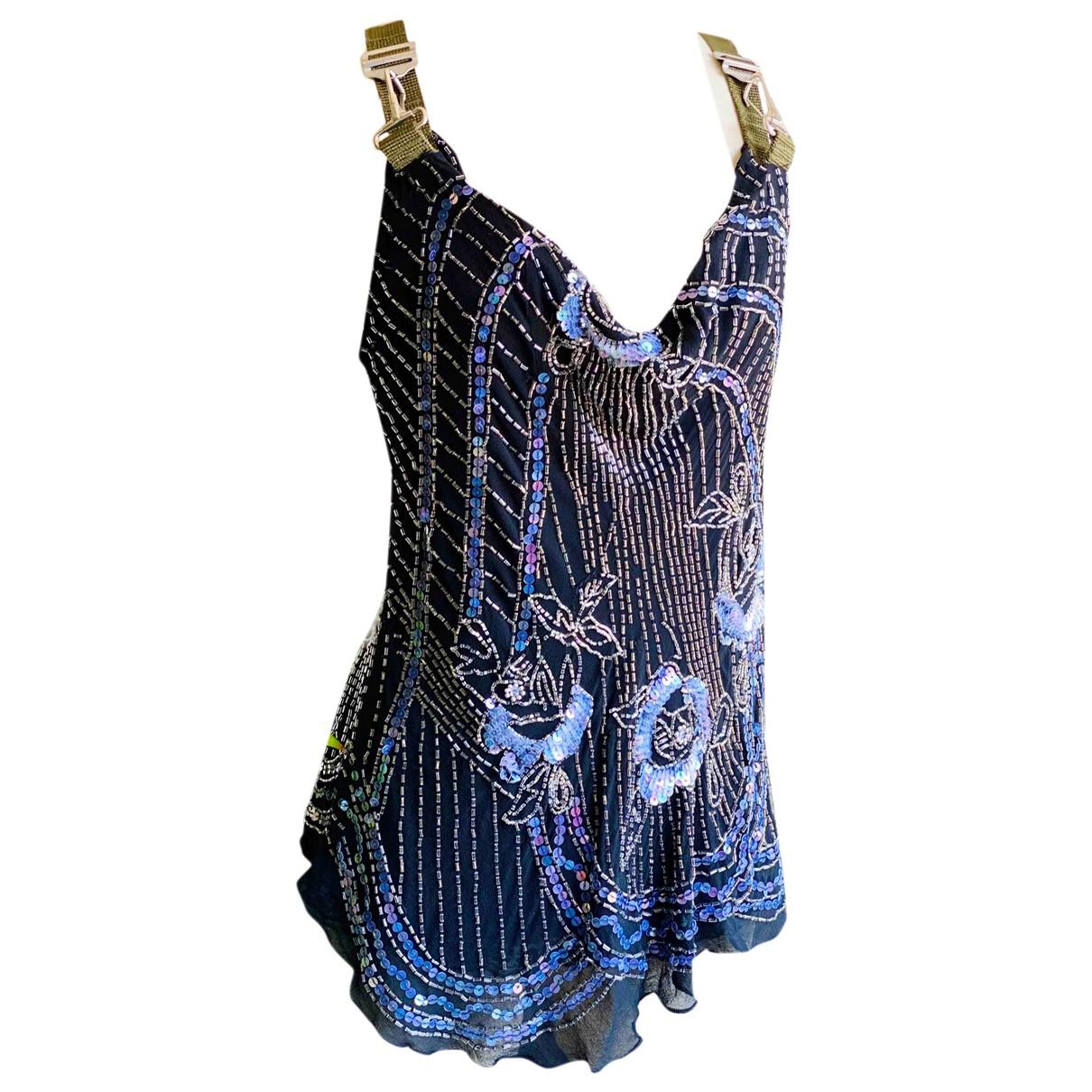 Diesel \N Black Silk  top for Women XS International