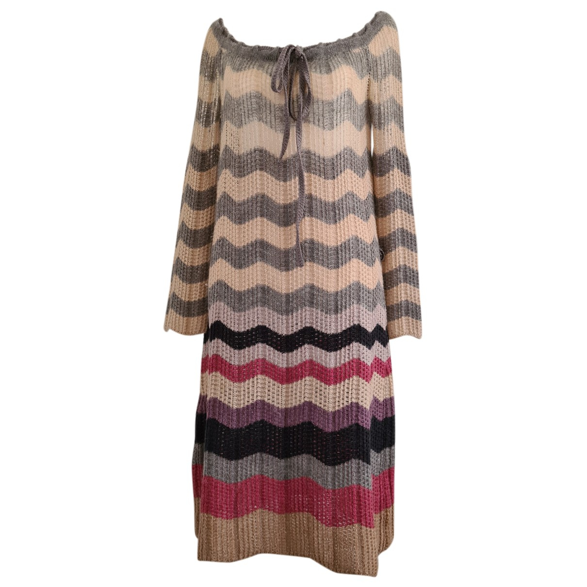 Missoni N Multicolour Wool Knitwear for Women 42 IT