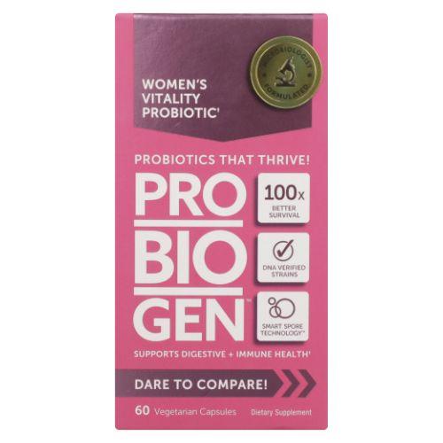 Women's Vitality Probiotic 60 Caps by Probiogen