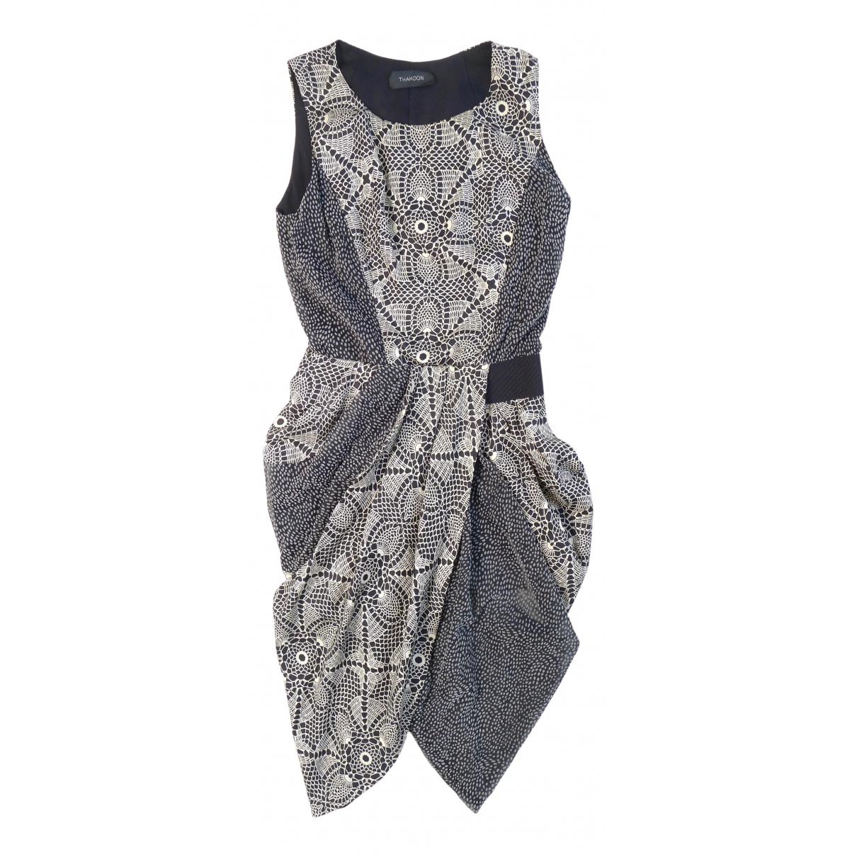 Thakoon \N Kleid in  Bunt Baumwolle
