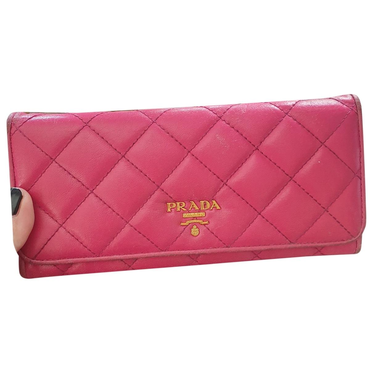 Prada \N Leather wallet for Women \N
