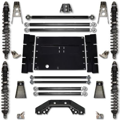Rock Krawler TJ 4.5 Inch Trail Runner Stage 1 Coilover Long Arm Lift Kit - TJ45TR-01S1