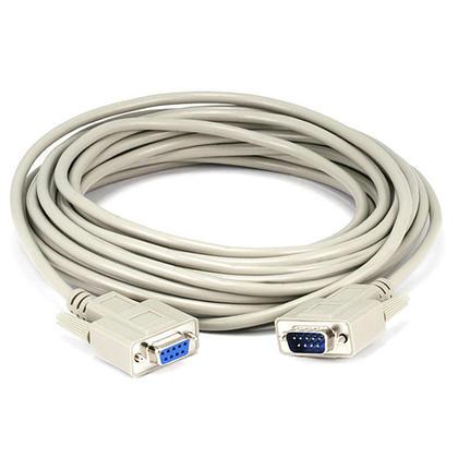 Câble moulé DB 9 M/F (7 longueurs disponibles) - 25Ft