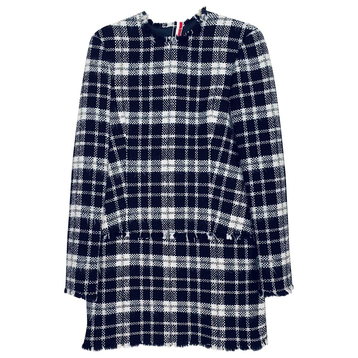 Thom Browne \N Kleid in  Bunt Tweed