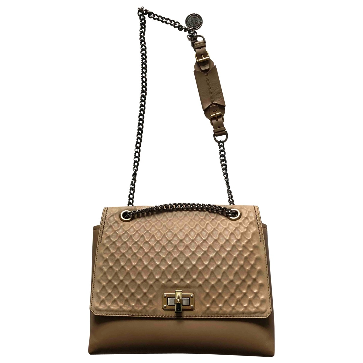 Lanvin Happy Camel Leather handbag for Women \N
