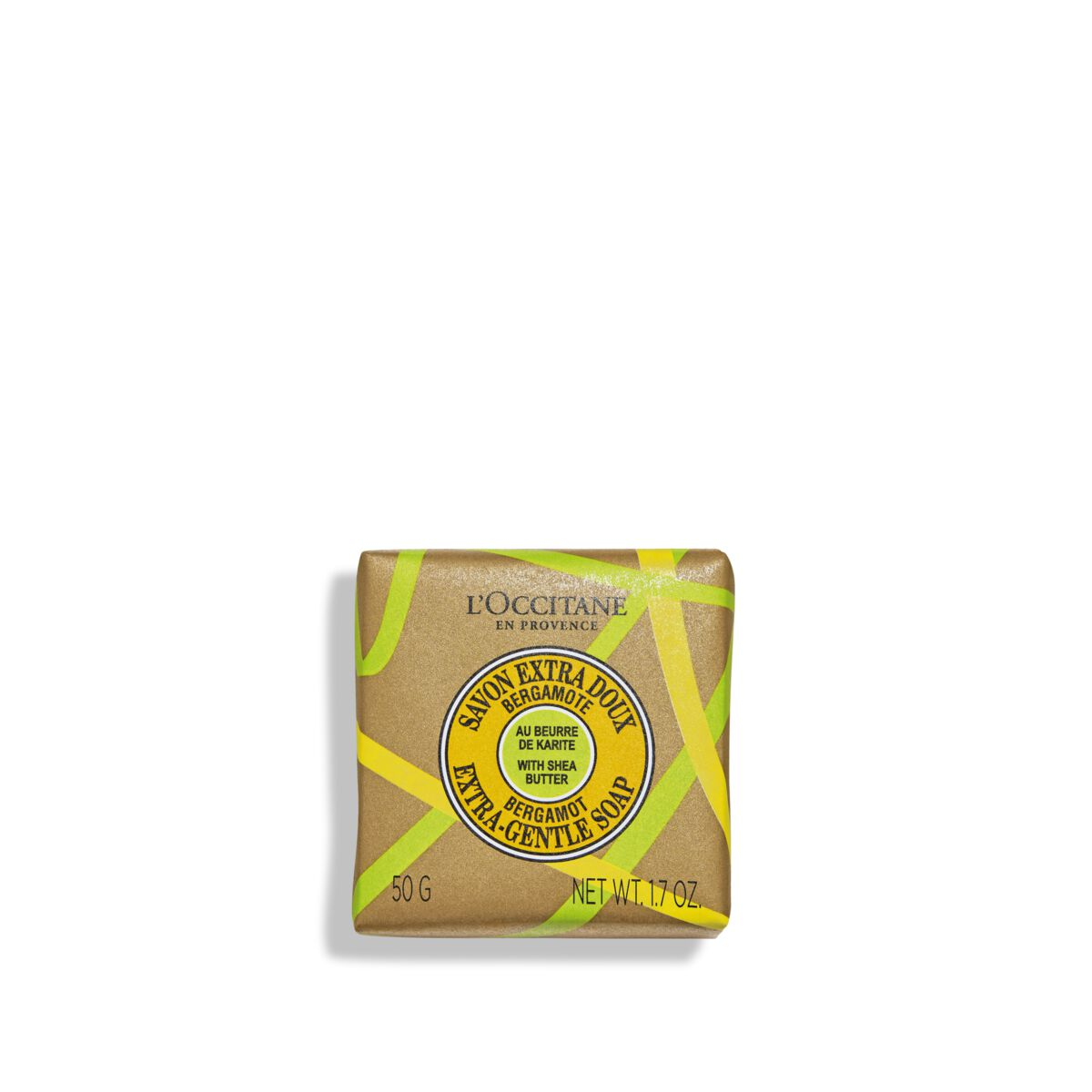 Shea Butter Bergamot Extra-Gentle Soap 1.7 oz.