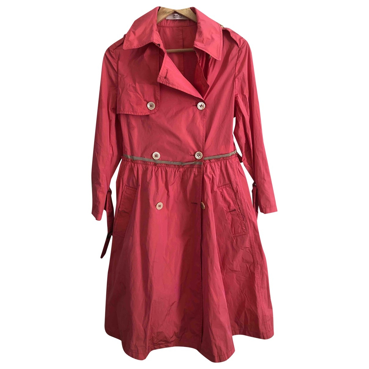 Red Valentino Garavani - Trench   pour femme - rose