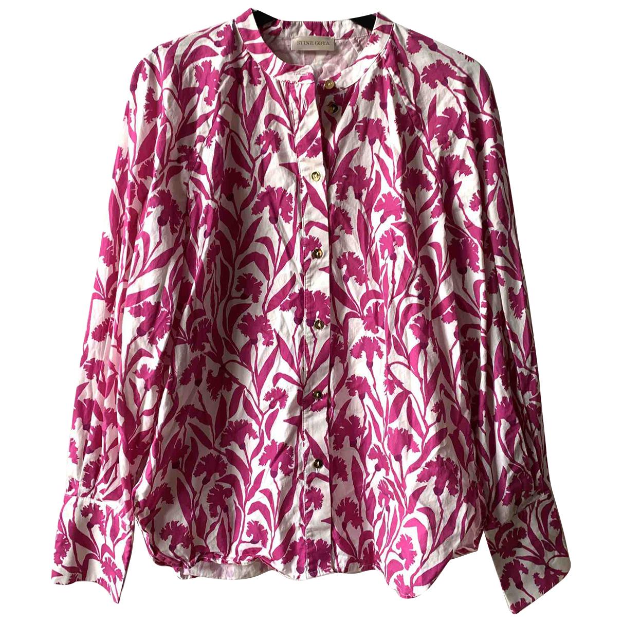 Stine Goya - Top   pour femme en coton - rose