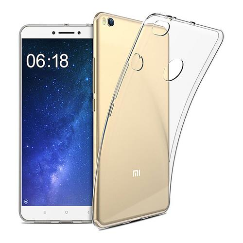Transparent Xiaomi Mi Max 2 Air Shell Silicon Back Cover High Quality Protective Soft Case Phone Shell