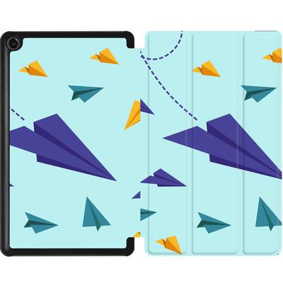 Amazon Fire 7 (2017) Tablet Smart Case - Paper Planes von caseable Designs