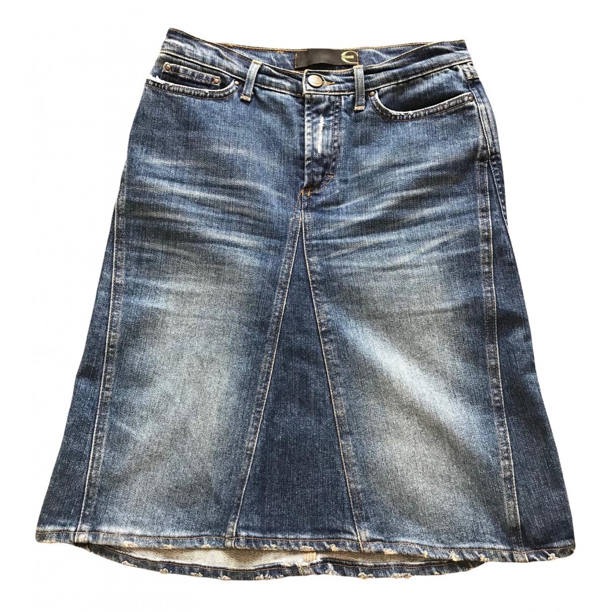 Just Cavalli \N Rocke in  Blau Denim - Jeans
