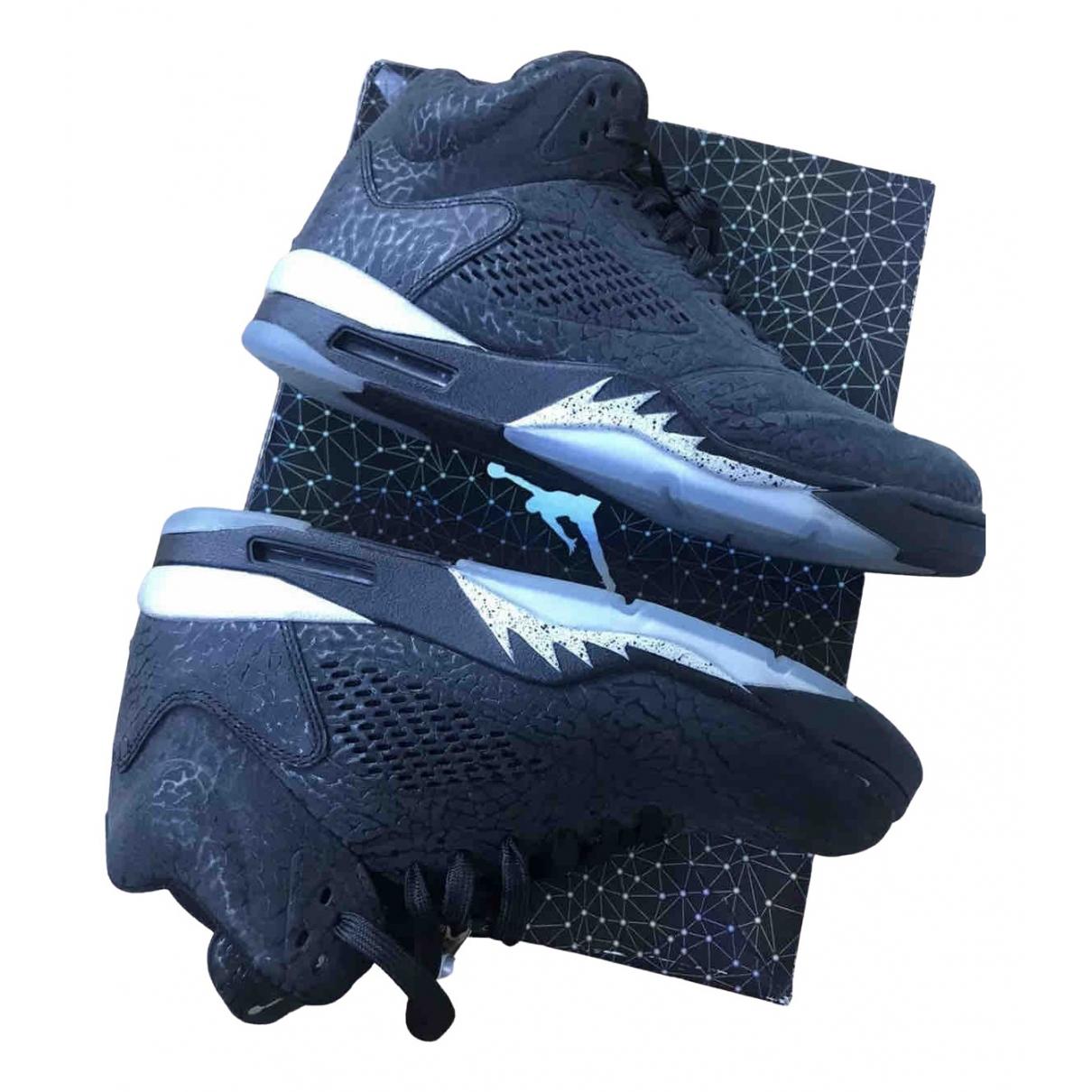 Jordan \N Sneakers in  Bunt Leder