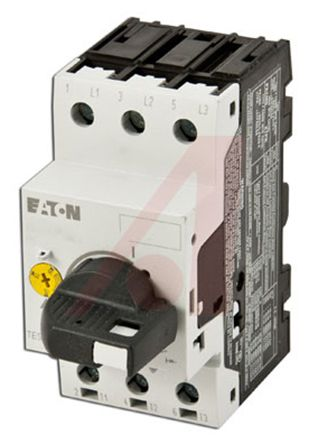 Eaton 690 V ac Motor Protection Circuit Breaker - 3P Channels, 1.6 → 2.5 A, 25 A@ 250 V dc, 32 A@ 690 V ac